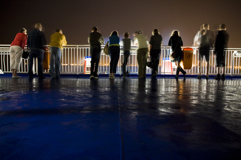 Photograph Ferry Crossing at Night by Tom Weightman on 500px