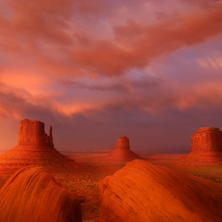 Monument Valley Sunset, Canon EOS D60