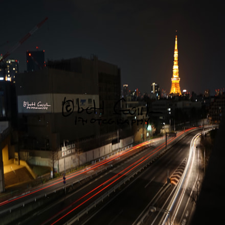 Long Exposure Tokyo Tower, Sony ILCE-7R, Sony E 10-18mm F4 OSS