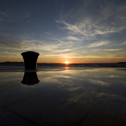 Sunset reflection, Canon EOS 30D, Canon EF-S 10-22mm f/3.5-4.5 USM