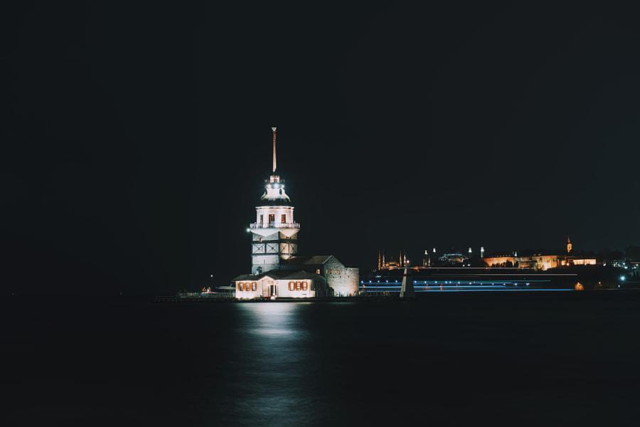 Istanbul at night by Beshr abdulhadi on 500px.com