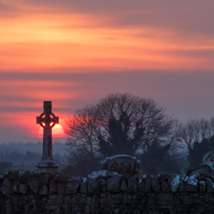 Celtic sunset, Canon EOS 6D, Canon EF 55-200mm f/4.5-5.6
