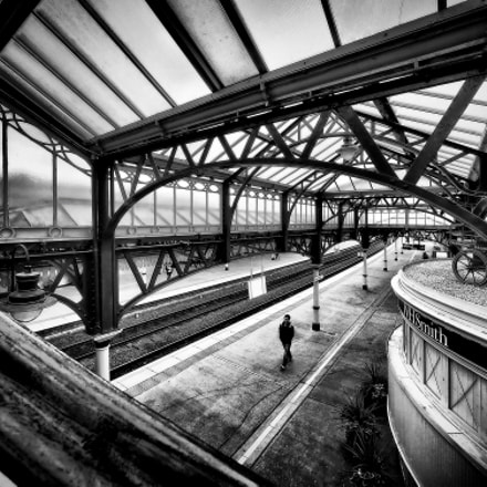 Stirling Railway Station, Olympus E-M1, Lumix G Vario 7-14mm F4.0 Asph.
