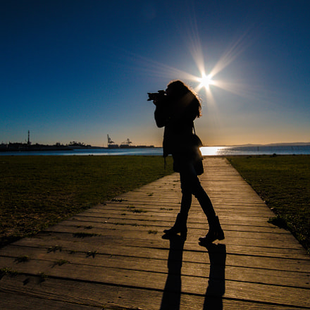 The Photographer, Canon EOS 70D, Sigma 10-20mm f/4-5.6