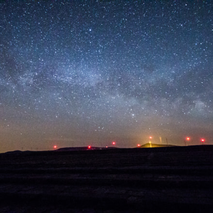 Night at Buzludzha, Canon EOS 700D
