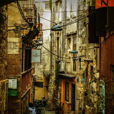 Old town Chania Creta, Nikon COOLPIX S6700