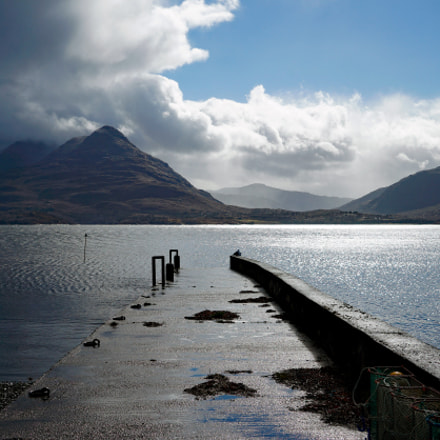 Jetty, Inveralligin, Torridon, Scottish, Sony ILCE-7, Sony FE 24-70mm F4.0 ZA OSS