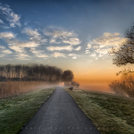 Sunrise, Egboetswater, Holland 29-03-17, Canon EOS 760D, Canon EF-S 10-22mm f/3.5-4.5 USM