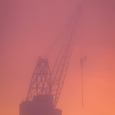 Misty Sunset, Canon EOS 6D, Canon EF 300mm f/4L IS