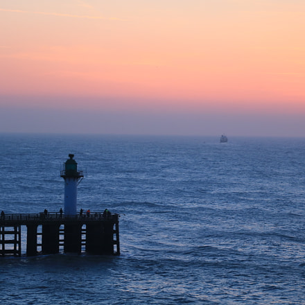 Calais Sunset, Canon EOS 760D, Canon EF-S 17-85mm f/4-5.6 IS USM