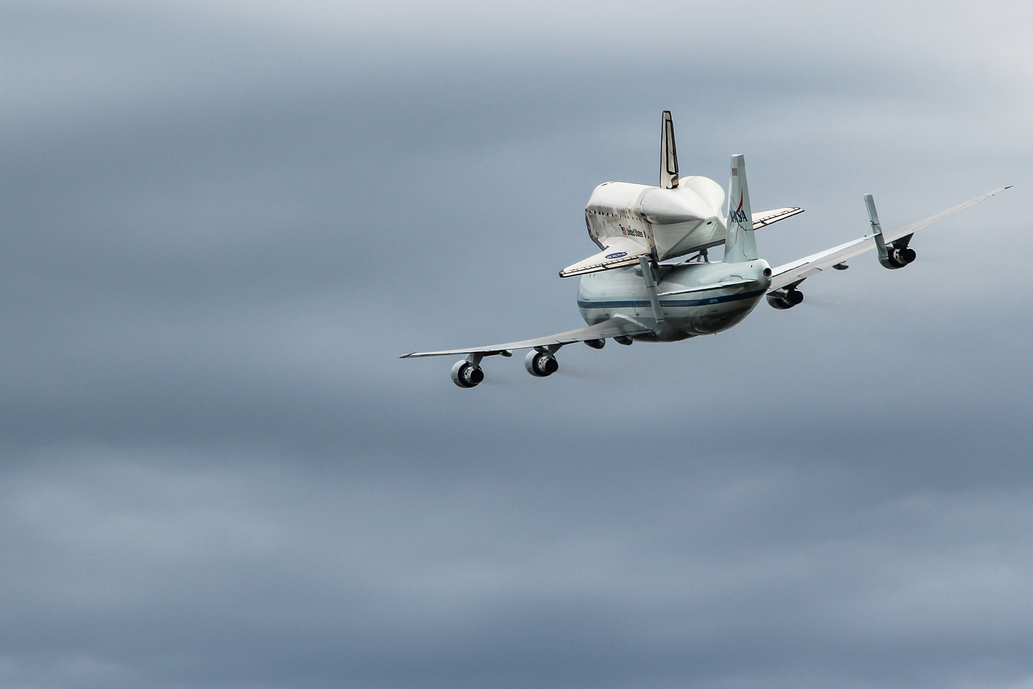 Photograph Space Shuttle Discovery's Final Fly by by Ben Weidlich on 500px
