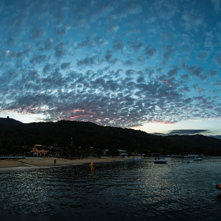 Sunset in Ilha Grande, Canon EOS 5D MARK III, Canon EF-S 10-22mm f/3.5-4.5 USM