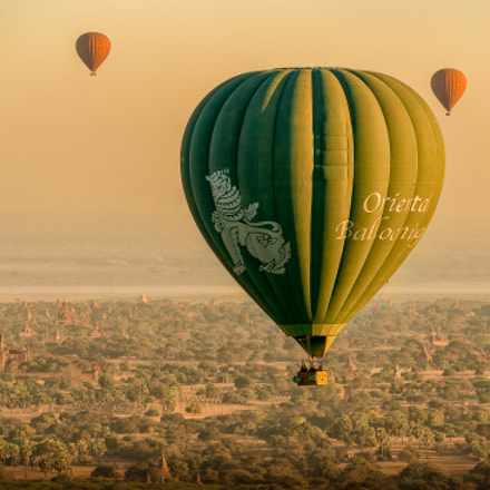 Flying over Bagan, Sony ILCE-7RM2