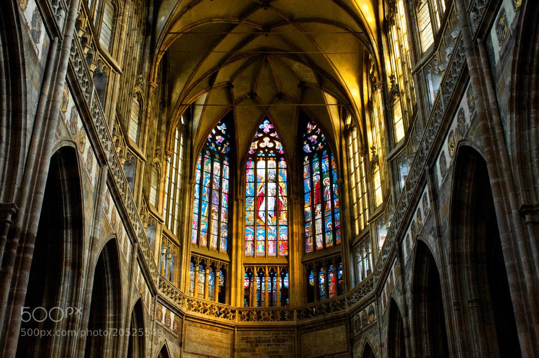 Photograph St.Vitus Cathedral,Prague,Czech Republic by Petr  Sejkora on 500px