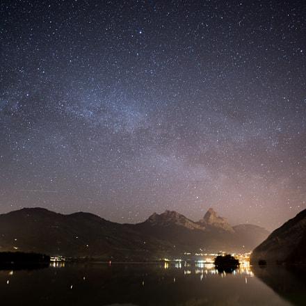 Night Sky Over Mythen