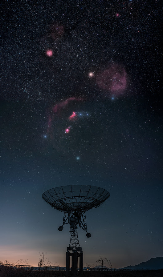 Salute to Orion by Haitong Yu on 500px.com