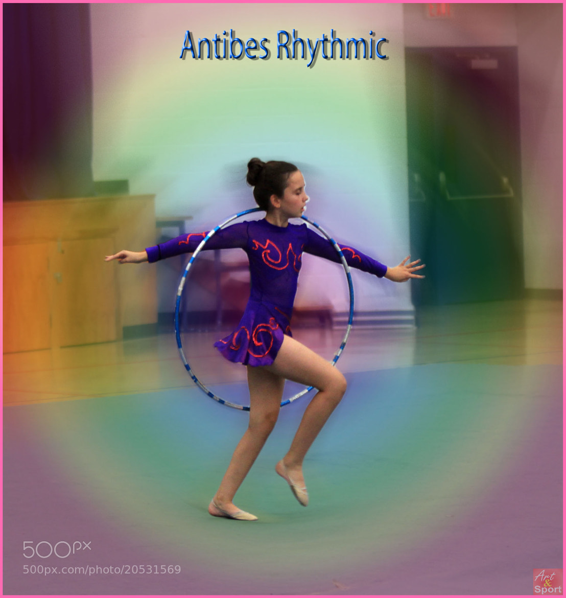 Photograph Hoop routine by Antibes Rhythmic on 500px
