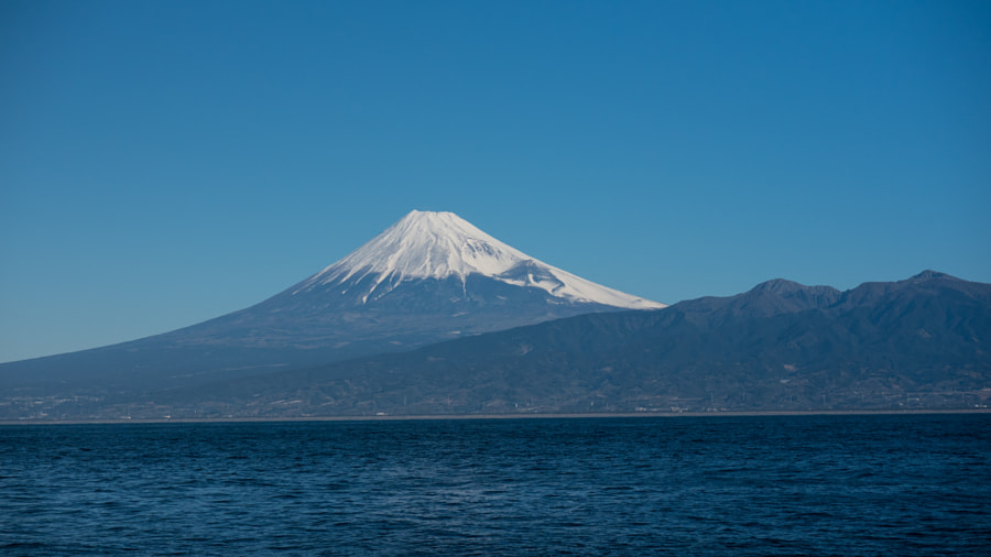 Mt Fuji from Osezaki by Gonzague Gay-Bouchery on 500px.com