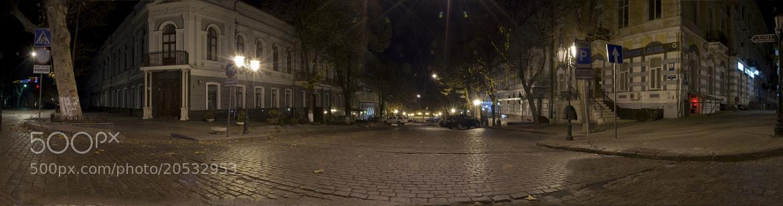 Photograph Night panorama at Deribasovskaya by Andreas Kontokanis on 500px