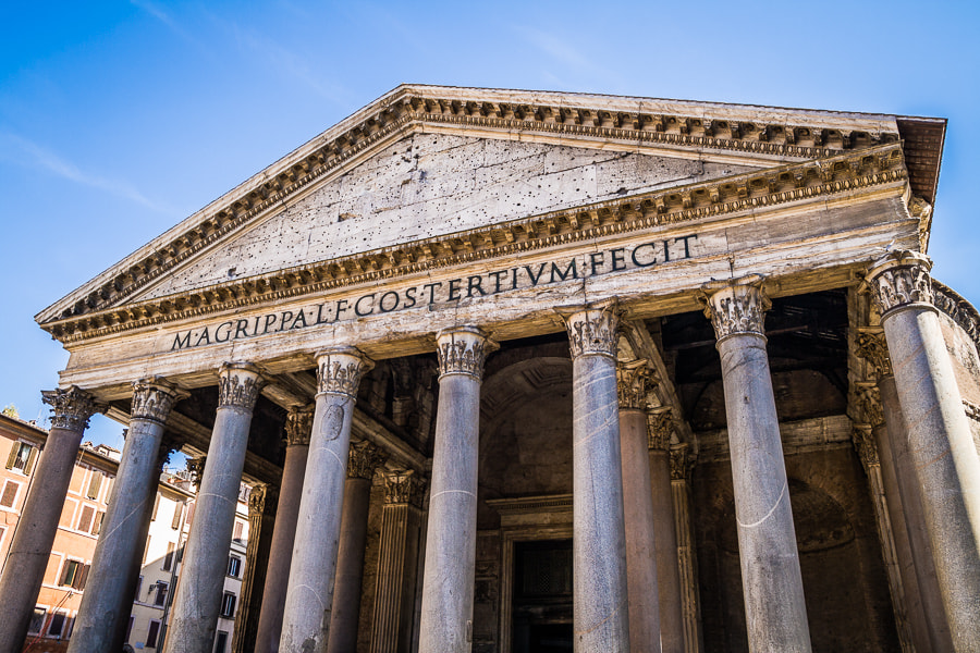Photograph Pantheon by Jose Agudo on 500px