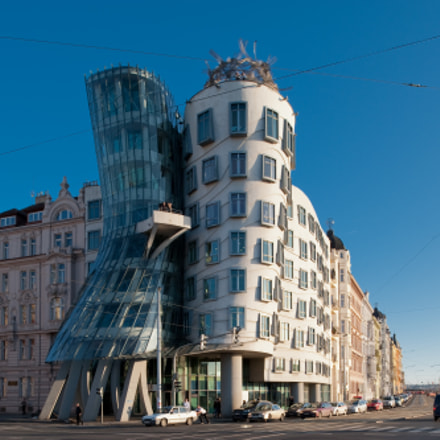 Dancing house, Nikon D700, PC-E Nikkor 24mm f/3.5D ED
