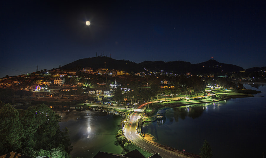 Full Moon Over Nuwara Eliya, Sri Lanka by Son of the Morning Light on 500px.com