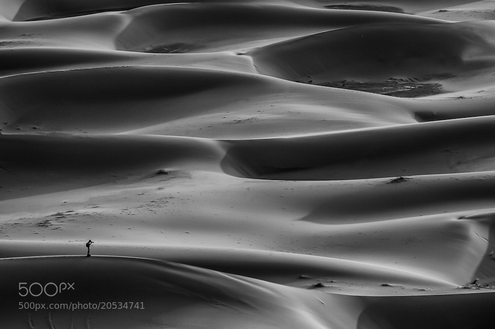 Photograph erg chebbi by Eric Volto on 500px