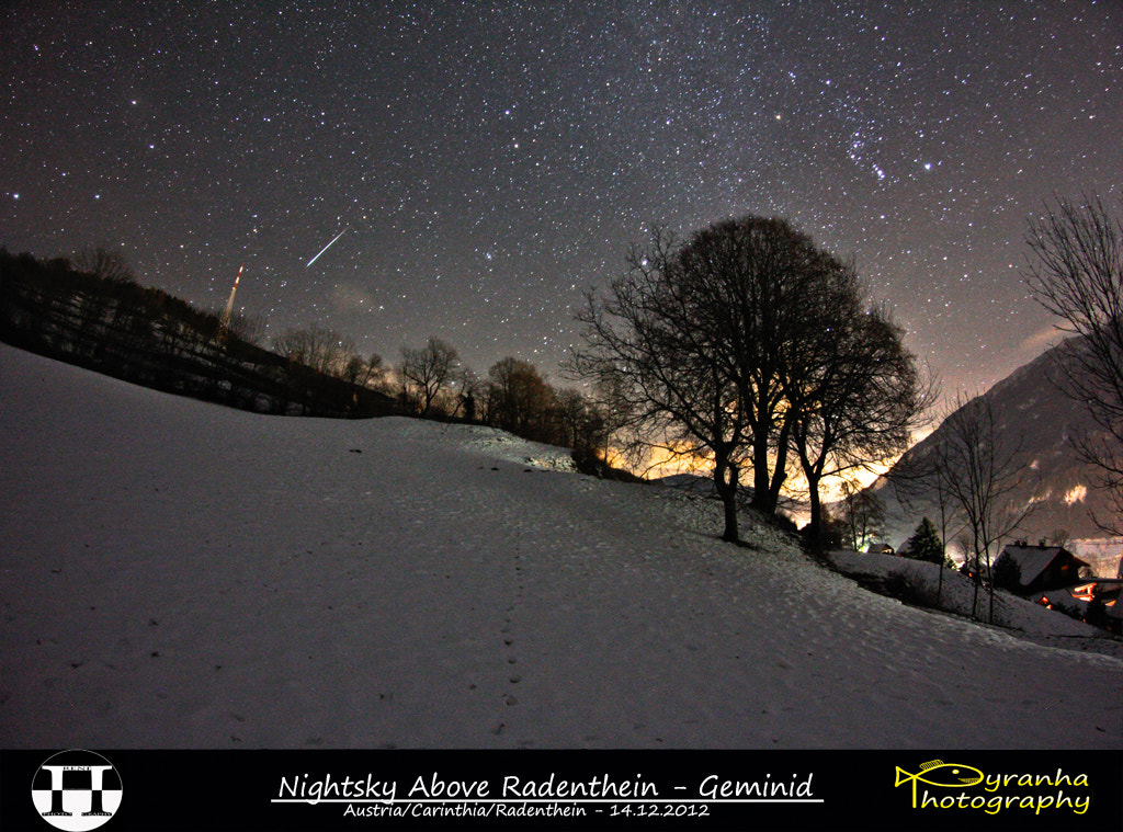 Photograph Nightsky Above Radenthein - Geminid by René Pirker on 500px