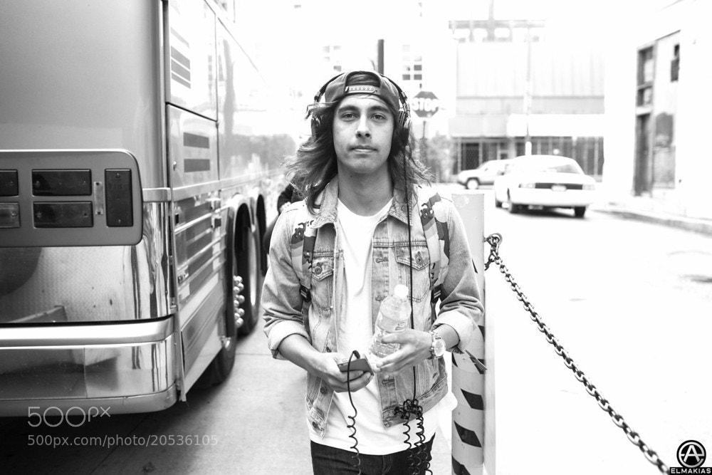 Photograph Vic Fuentes by Adam Elmakias on 500px