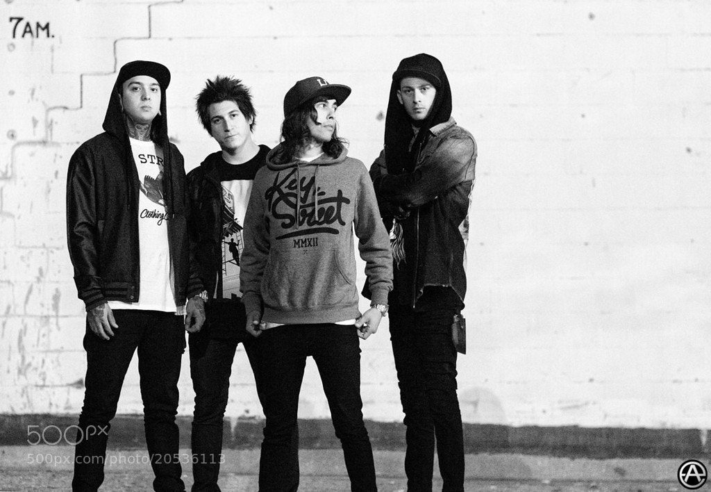 Photograph Pierce the Veil by Adam Elmakias on 500px