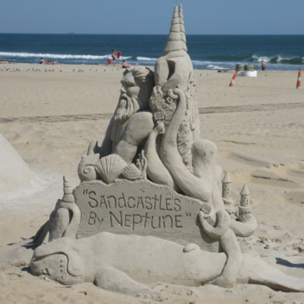 Sandcastle At Virginia Beach, Canon POWERSHOT A2000 IS