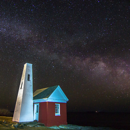 Milky Way over Pemaquid, RICOH PENTAX K-3 II, smc PENTAX-DA 12-24mm F4 ED AL [IF]