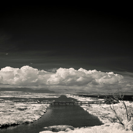 cloud formations over the, Canon EOS D60