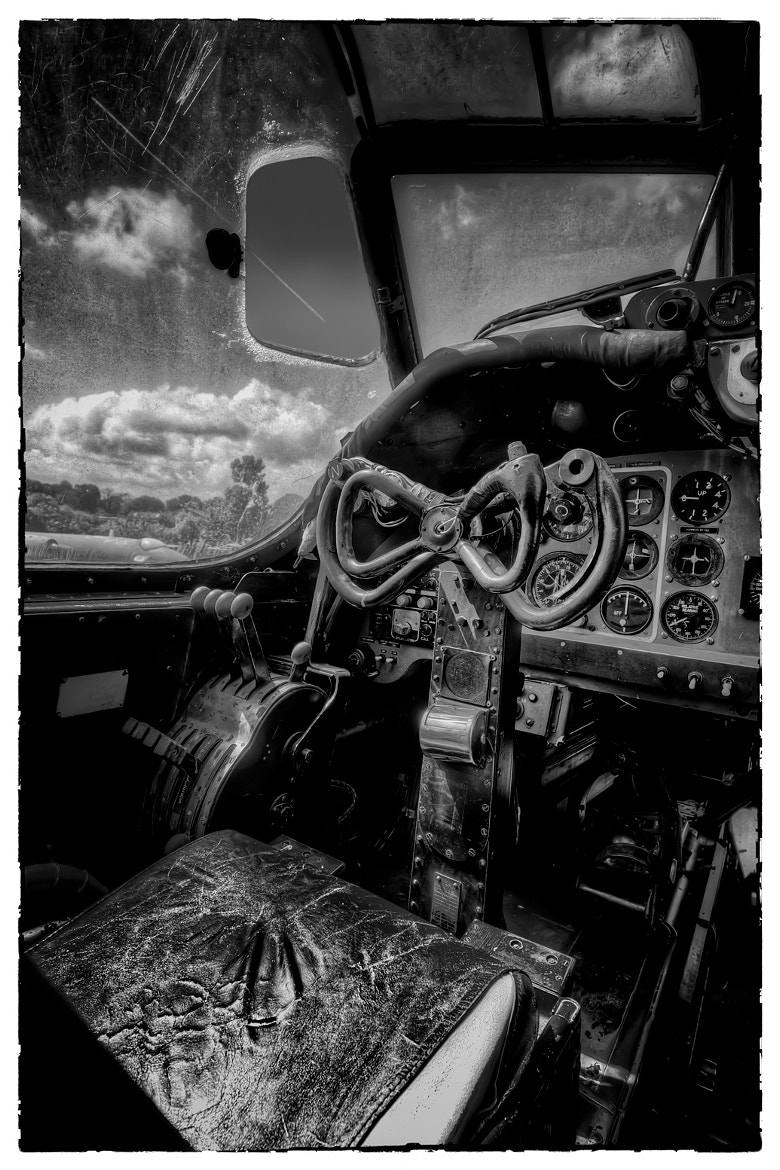 Photograph Shackleton Bomber Cockpit by Steve Bryson on 500px