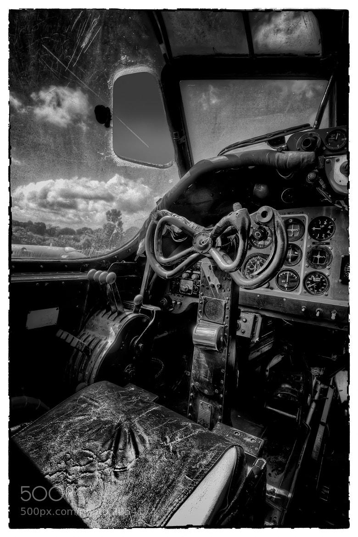 Photograph Shackleton Bomber Cockpit by Steve Bryson on 500px