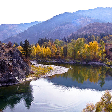 Methow River, Canon POWERSHOT A40