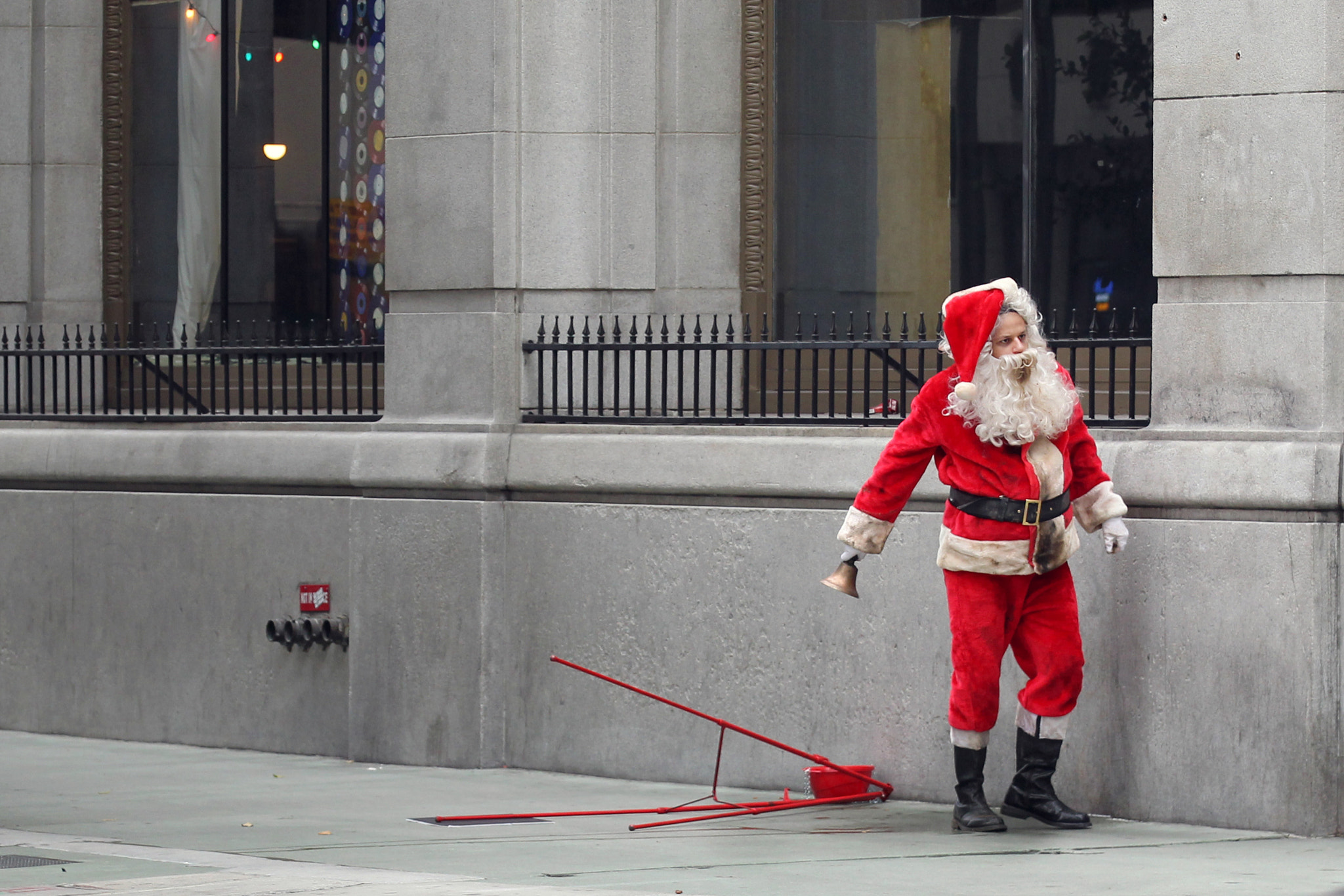 Photograph Bad Santa by Timothy Jackson on 500px