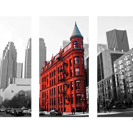 Classic icon in downtown, Canon POWERSHOT G3