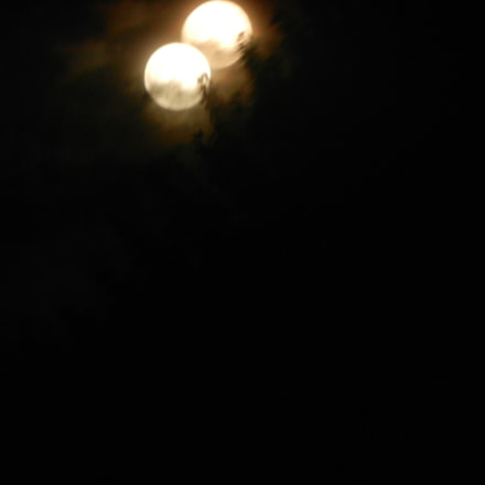 Two Moons Out, Nikon COOLPIX S9050