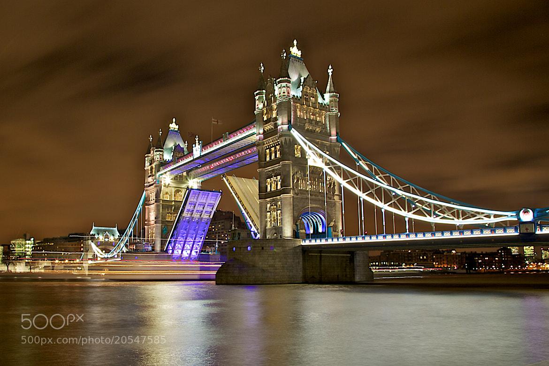 Photograph London - Tower Bridge (open bridge) by Europe Trotter on 500px