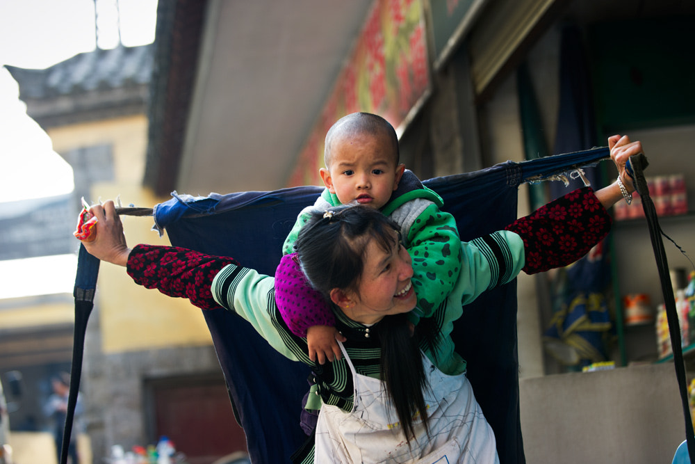 Photograph Mother and son! by Hai Thinh on 500px