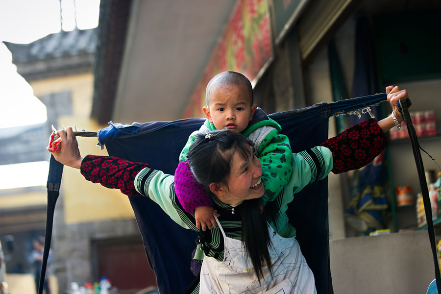 Mother and son! by Hai Thinh on 500px.com