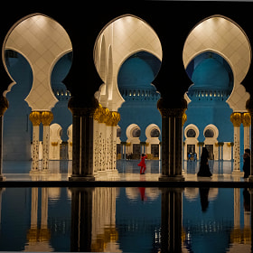 Last night at the Grand Mosque by julian john (sandtasticdays)) on 500px.com