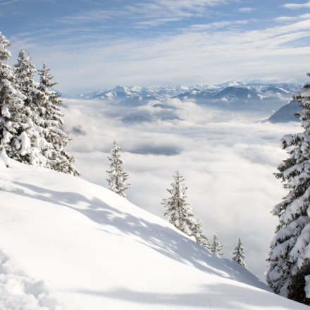 Winter forest in Alps, Canon EOS 5D, Canon EF 28mm f/2.8