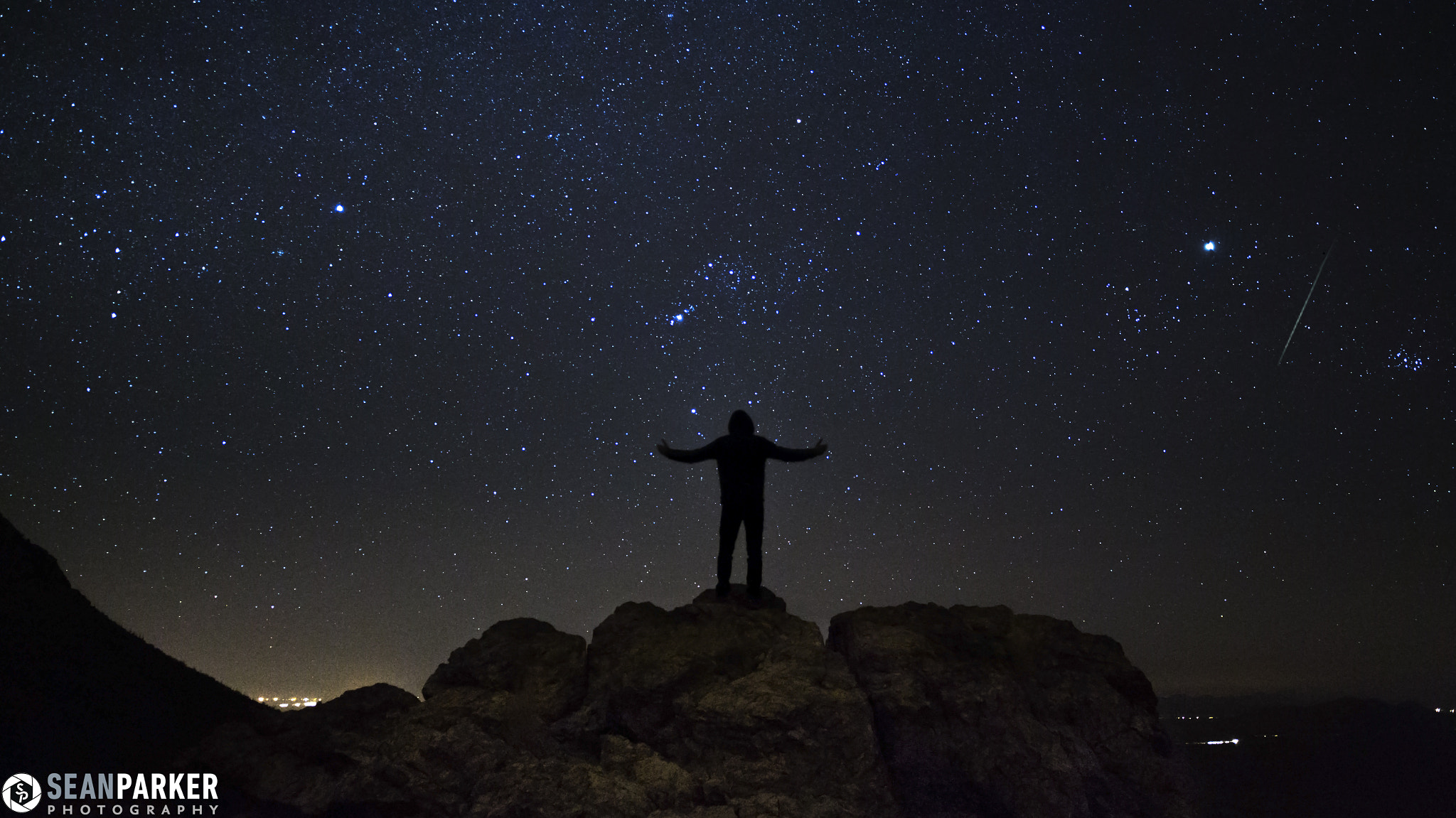 Photograph Geminid Self-Portrait by Sean Parker on 500px