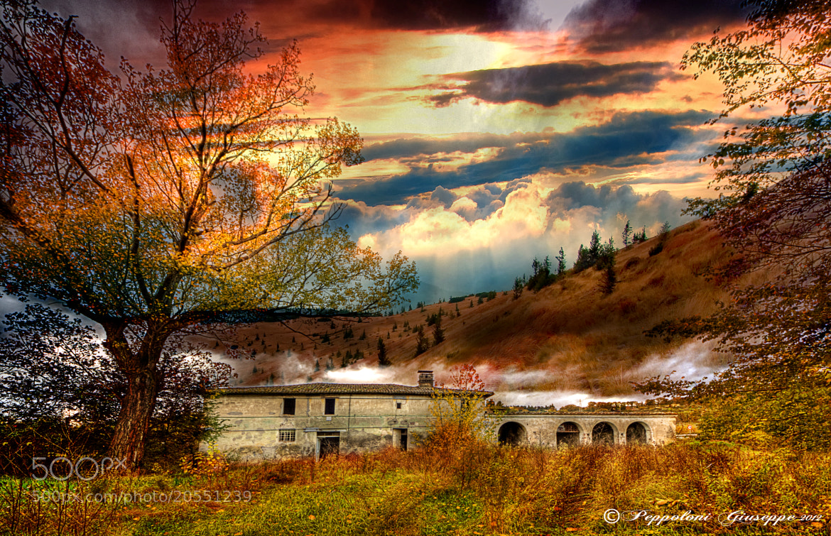 Photograph Old cottage ♥ by Giuseppe  Peppoloni on 500px