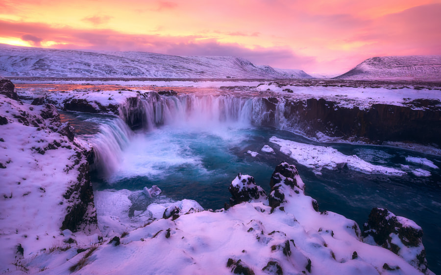 The Amazing Godafoss by Daniel F.