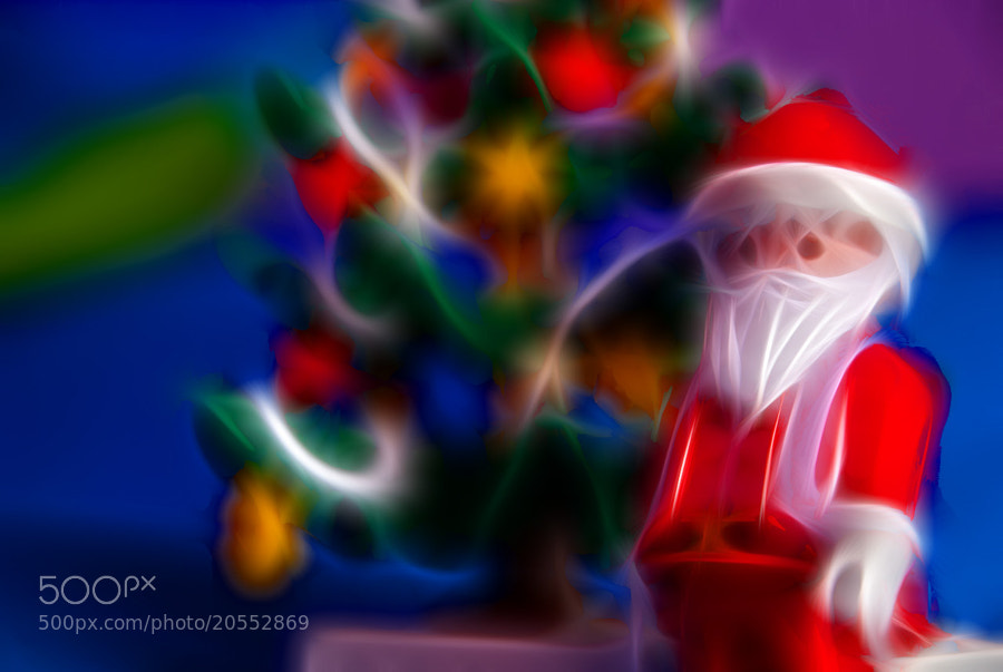 Photograph Santa wish you merry christmas!! by Daniel Romero Rodríguez on 500px