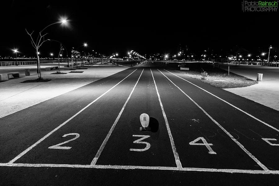 Start line.-