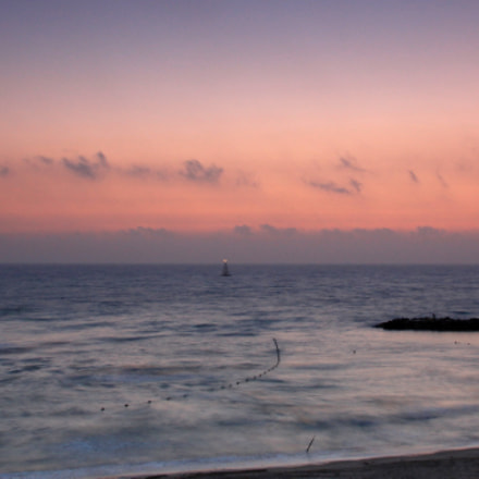 Sunset in the mediterranean, Canon EOS 1200D